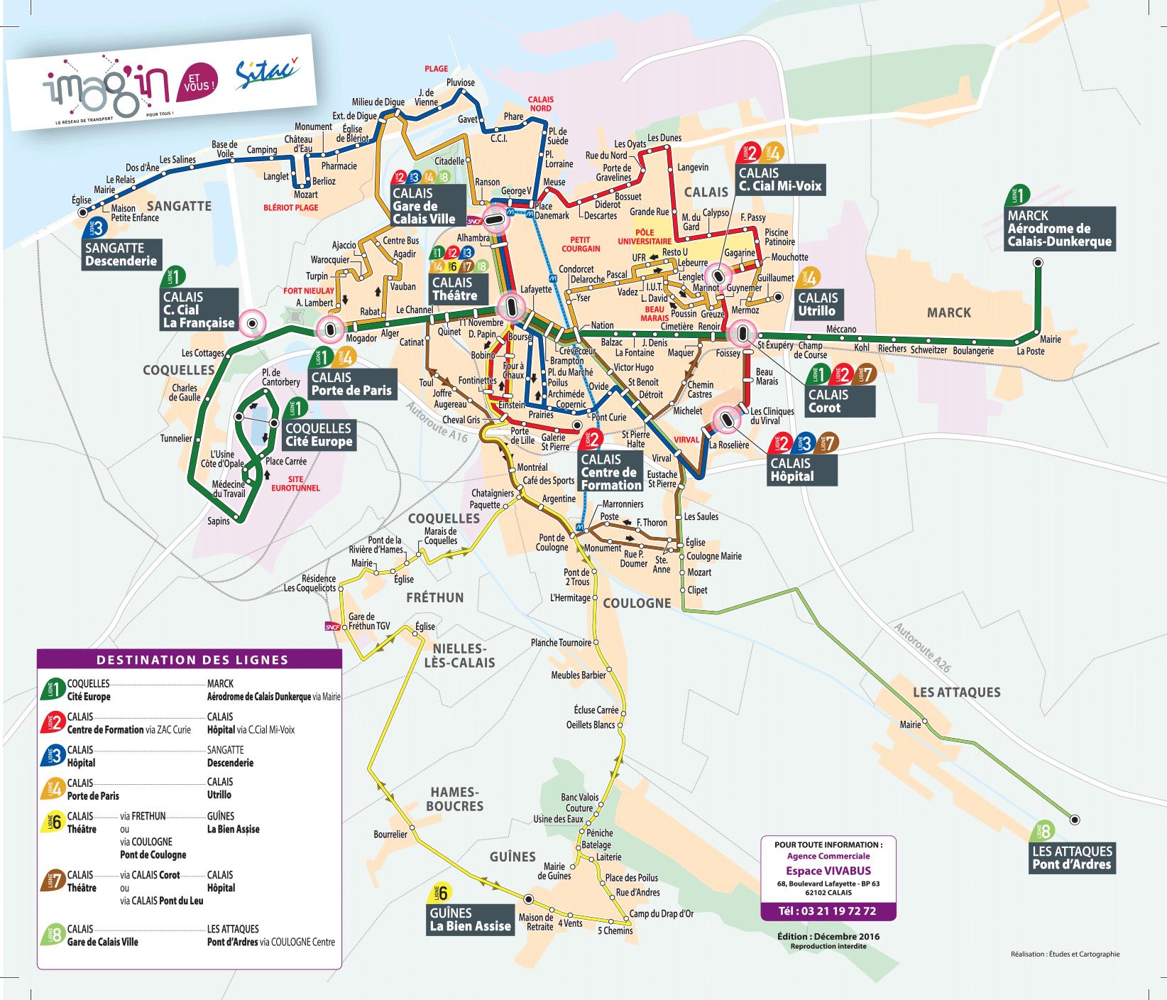 Célèbre Public Transport Networks | Calais Côte d'Opale Tourisme VN09