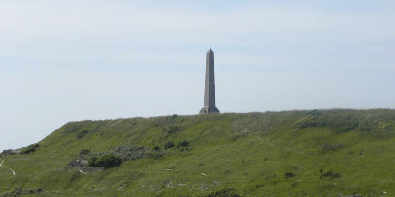 """Monument """"Dover Patrol"""" at Cap Blanc Nez"""