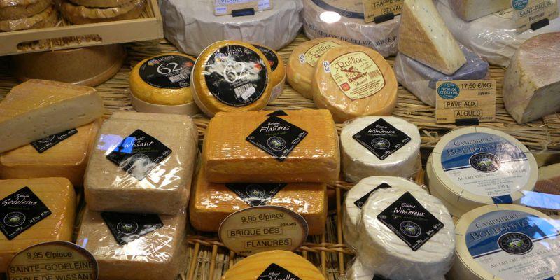 Cheese of la côte d'Opale