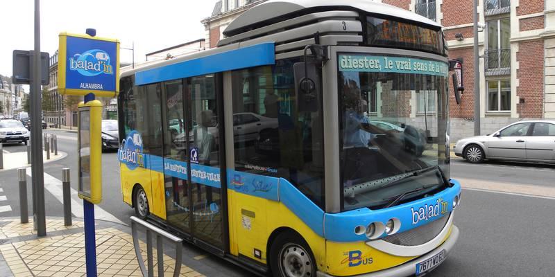Baladin Calais shuttle