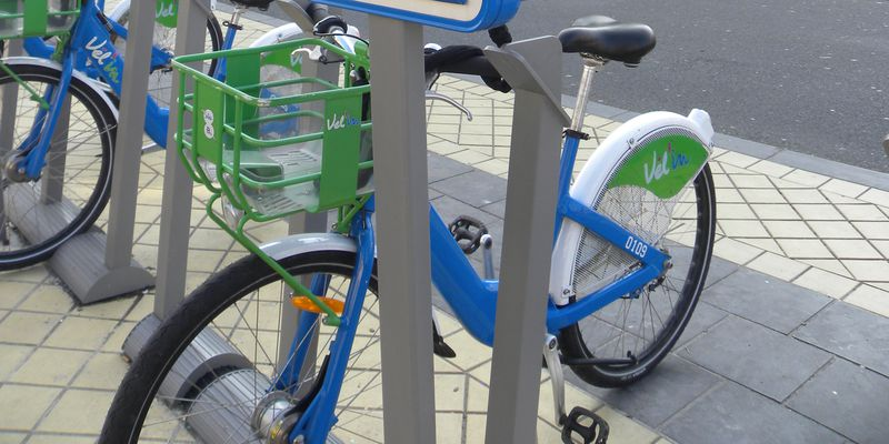 The vel'In, bike rental system