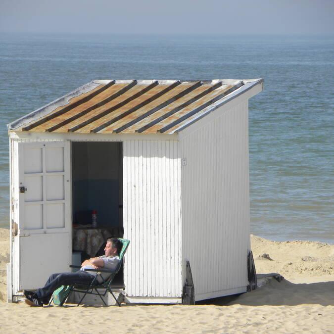 Chalet de plage Calais